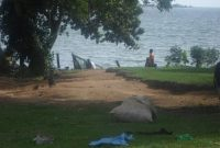 Lake view house for sale in Entebbe