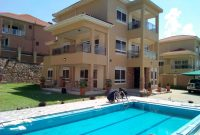 7 Bedrooms and 7 bathrooms for rent in Munyonyo 9,000 USD