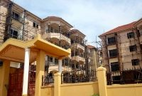16 units apartment block for sale in Kiwatule 41m monthly at 1.6m USD
