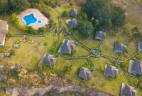 Safari lodge for sale in Queen Elizabeth National park at 1m USD