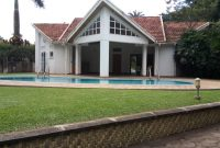 5 bedroom house for rent in Bugolobi with swimming pool at 4,500 USD