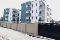 12 units apartment block for sale in Kisaasi 12m monthly at 1.2 billion shillings