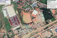 10 acres of land for sale in Namanve Industrial Area at 350m Per Acre