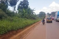 2.25 acres of land for sale in Namanve touching Jinja road at 1.6 billion shillings