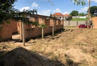 2 semi detached shell houses for sale in Kira Nsasa at 70m