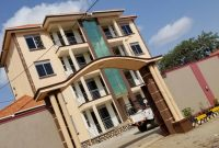 9 units apartment block for sale in Kansanga 10.8m monthly at 1.2 billion shillings