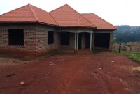 3 bedroom shell house for sale in Kagga Kitende at 80m