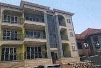 6 units apartment block for sale in Kira 5.2m monthly at 750m