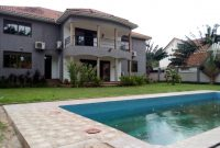 6 bedroom house for rent in Naguru with pool at $4,500