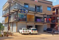 commercial building for sale in Kyanja at 2 billion making 18m shillings monthly