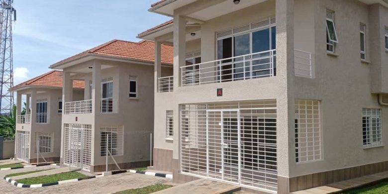 5 bedroom townhouses for sale in Muyenga Kisugu at $250,000 each