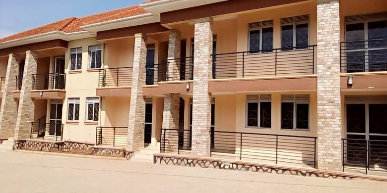 1 bedroom apartments for rent in Kira at 600,000 shillings each