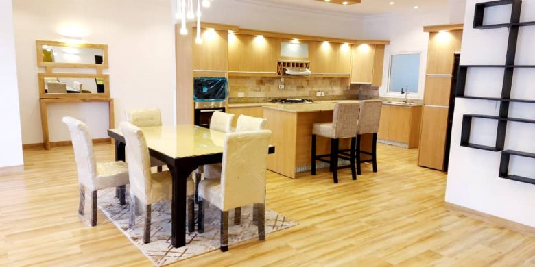 4 bedroom furnished apartments for rent in Kololo with pools at 3,500 USD